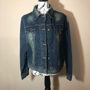 Steve & Barry's relaxed fit Jean Jacket